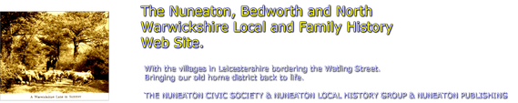 The Nuneaton and North Warwickshire Local and Family History Web Site